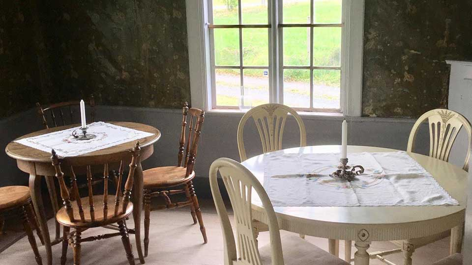Kyrkås kulturgård interiör